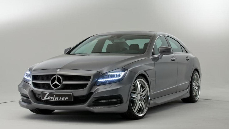 Lorinser tunes the Mercedes CLS C218 - details and more pics