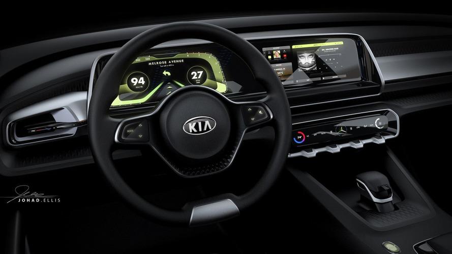Kia reveals Telluride name and digital dash for big SUV concept