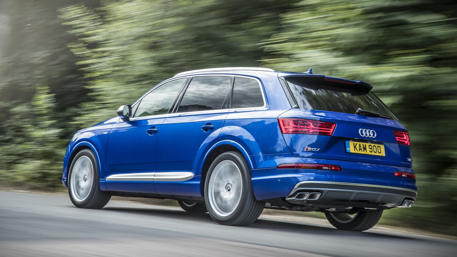 Audi SQ7 TDI UK Spec