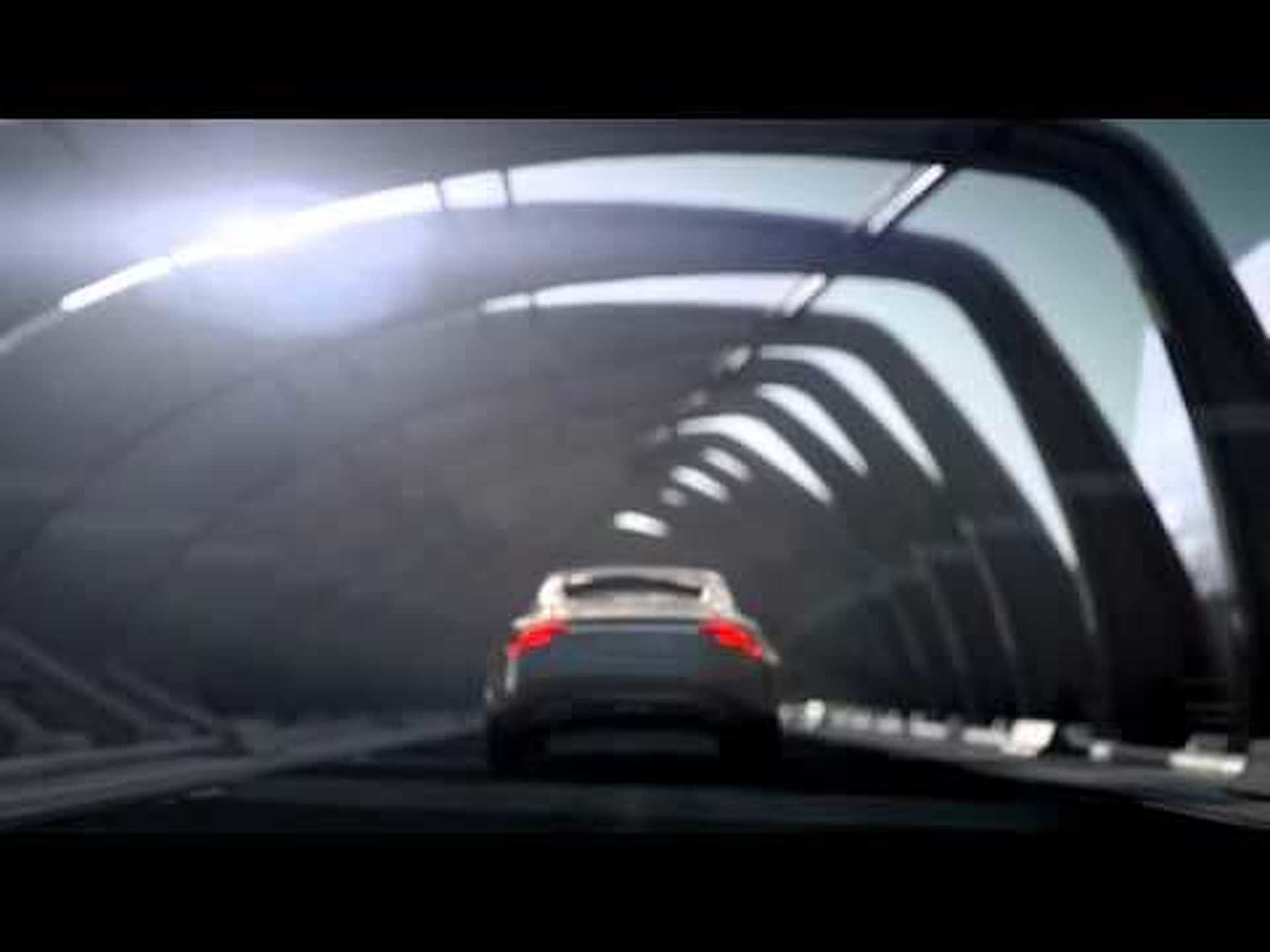 2011 Volvo Concept Universe - A newsreel with driving scenes
