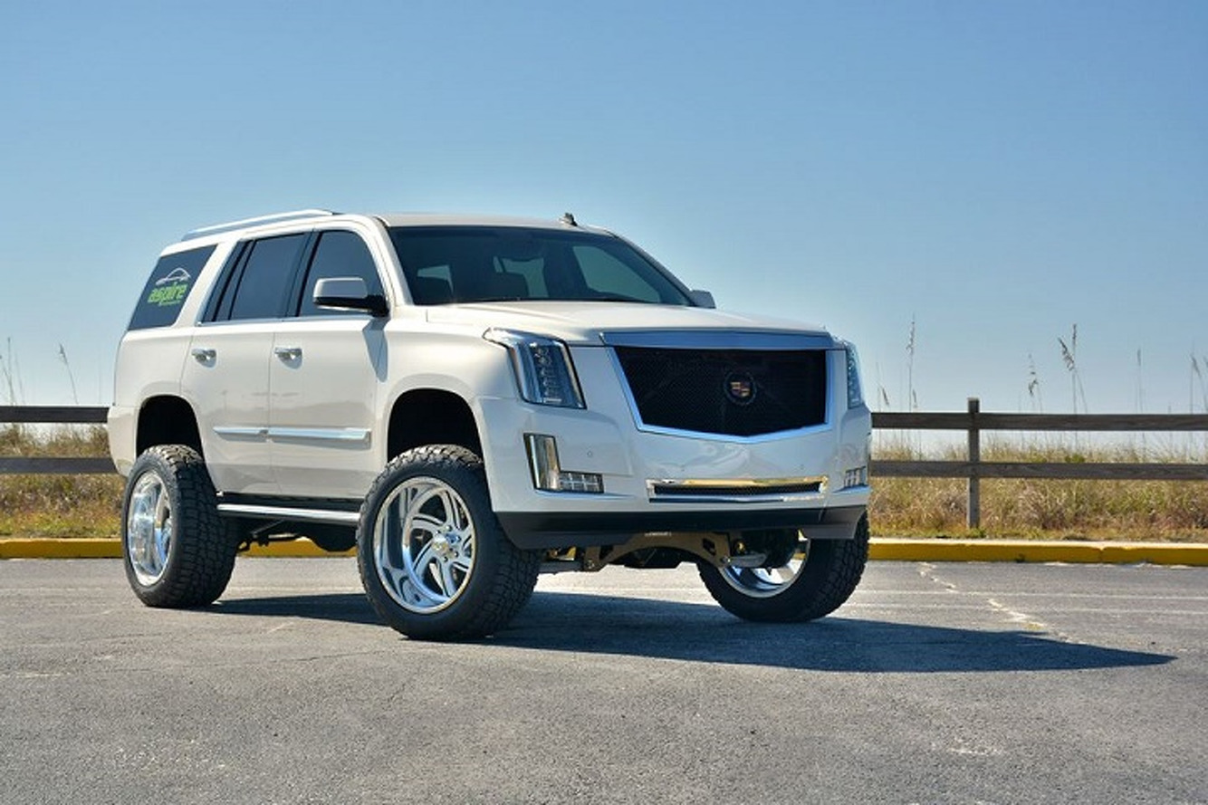 Lifted 2015 Cadillac Escalade: Because It Wasn't Big Enough Already