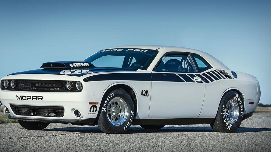 Mopar introduces the Dodge Challenger Drag Pak