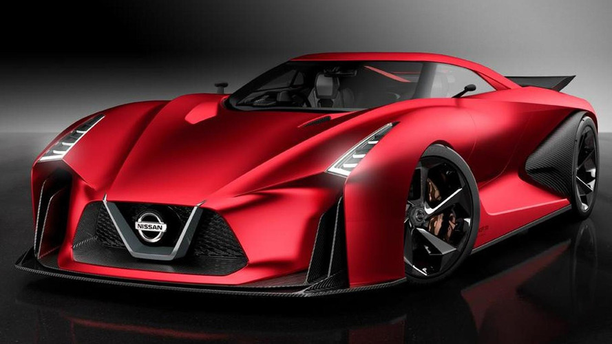 Nissan Concept 2020 Vision Gran Turismo updated for Tokyo