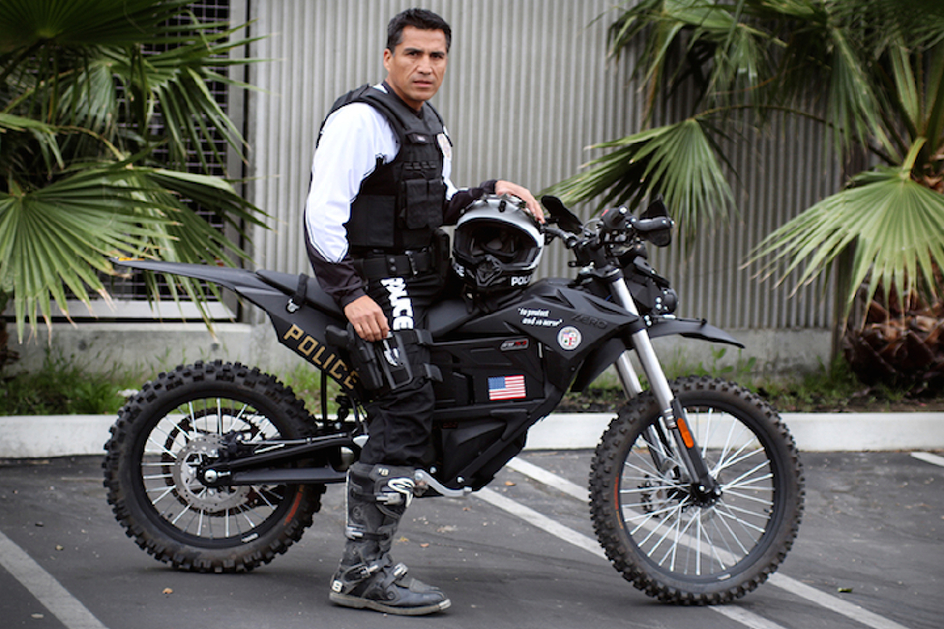 The LAPD Just Bought a Military-Grade Electric Motorcycle And It's Awesome