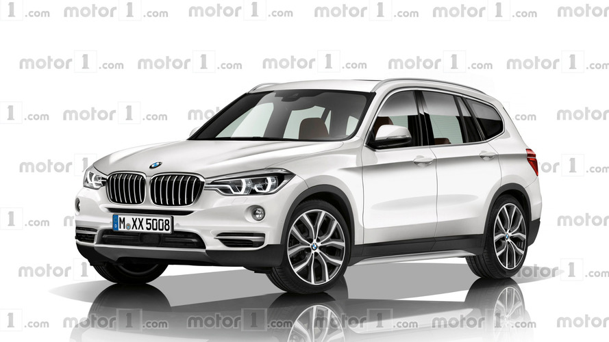 Next BMW X3 rendered with evolutionary design
