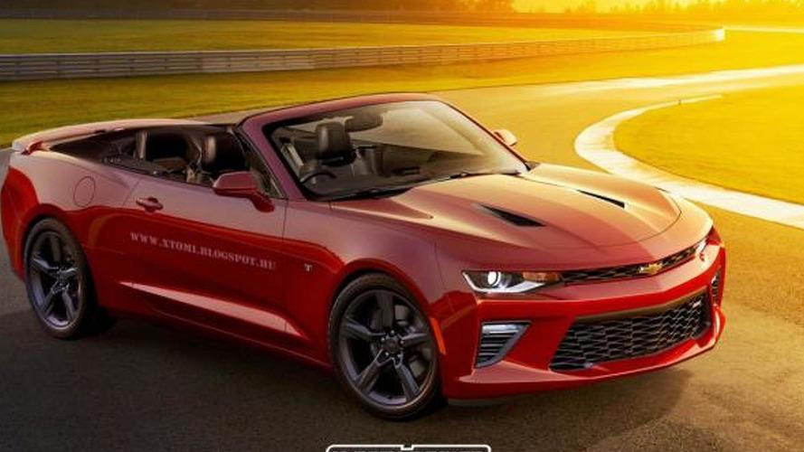 Chevrolet Camaro Convertible already rendered