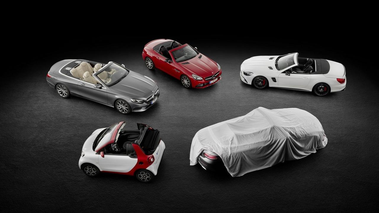 2016 Mercedes C Class Cabriolet teaser
