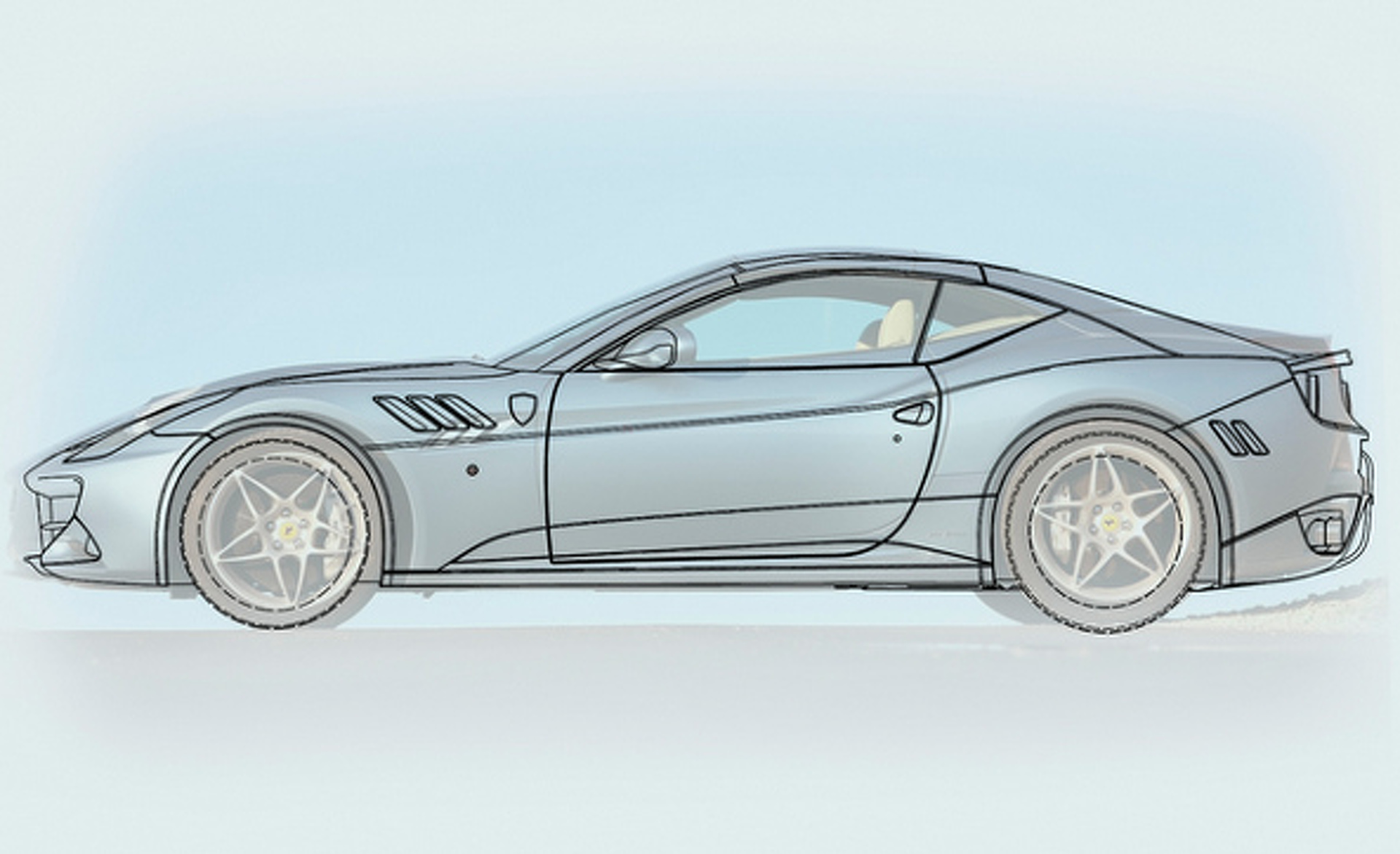 Ferrari Patents Reveal California Replacement In the Works?