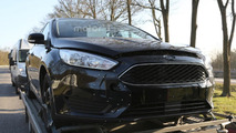 2018 Ford Focus chassis testing mule spy photo