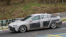 2017 Opel Insignia spy photos