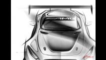 Mercedes-AMG GT3, le prime immagini