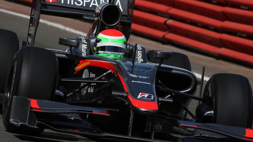 HRT to use old car for first 2011 test