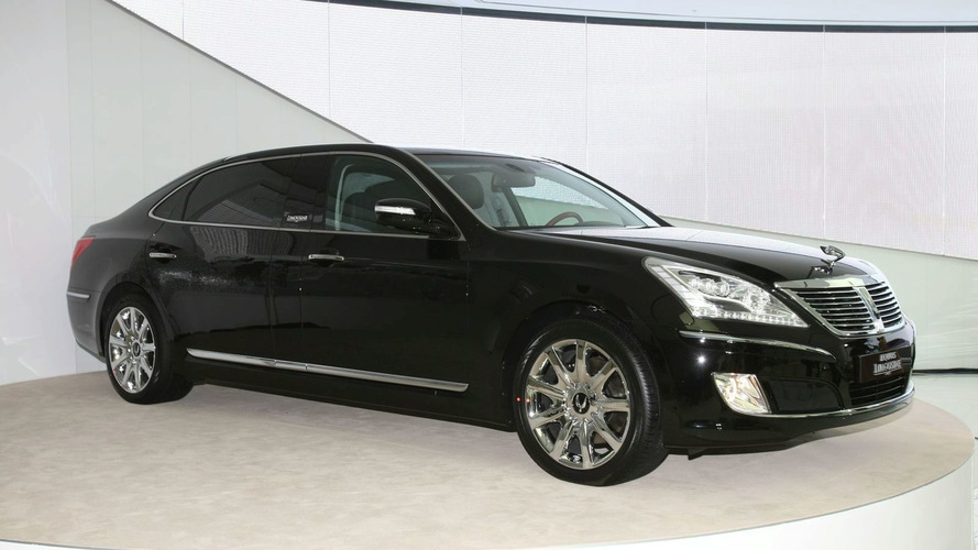 Hyundai EQUUS Stretch Edition Launched