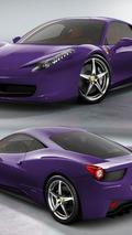 Ferrari 458 Italia - Purple