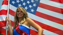 Grid girl - Formula 1 World Championship, United States Grand Prix, 17.06.2007 Indianapolis, USA