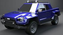 Cimex Conin Concept 3D rendering