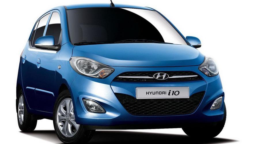 Hyundai i10 gets a facelift for Paris