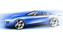 Pininfarina Alfa Romeo Spider Concept design sketch - 1600 - 1.02.2010