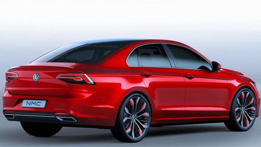Volkswagen New Midsize Coupe concept goes official in Beijing