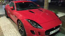 Jaguar F-Type R Coupe spotted in the metal in Dubai