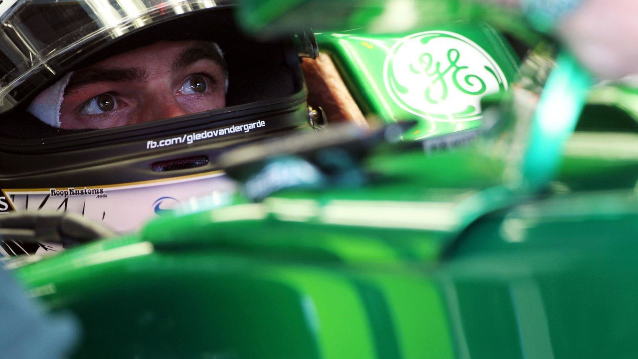 Giedo van der Garde in Caterham CT03 05.07.2013 German Grand Prix