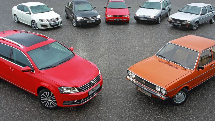 Volkswagen Passat turns 40