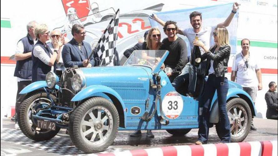 Mille Miglia, vincono Tonconogy-Berisso su Bugatti