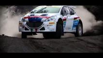 Peugeot 208 T16 con Paolo Andreucci sull'Etna