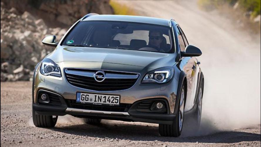 """Opel Insignia, """"piccolo"""" è meglio"""
