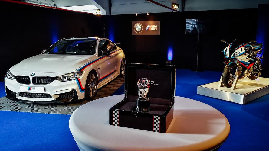 BMW M4 Magny-Cours Edition vem com...moto inclusa