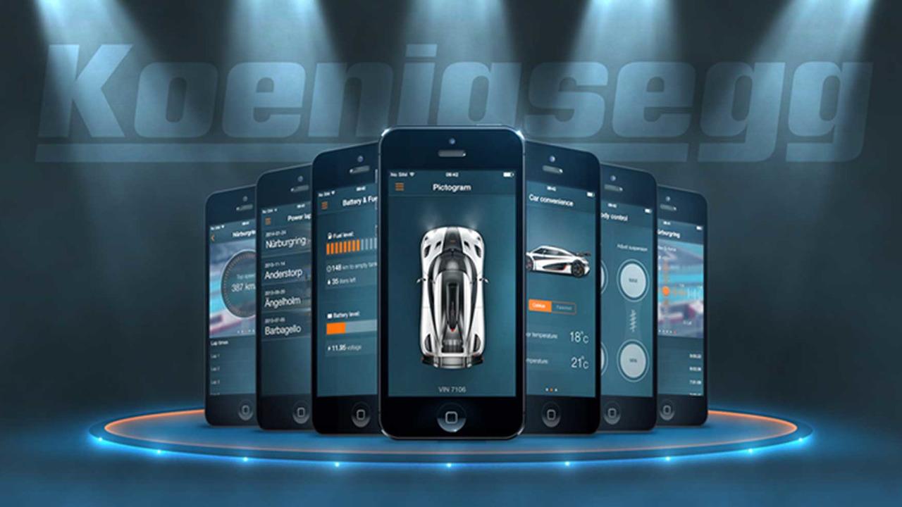 Koenigsegg app