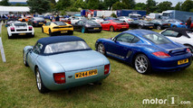 TVR Griffith 500 and Porsche Cayman at 2017 Goodwood Festival of Speed