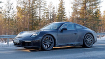 Porsche 911 992 spy photos