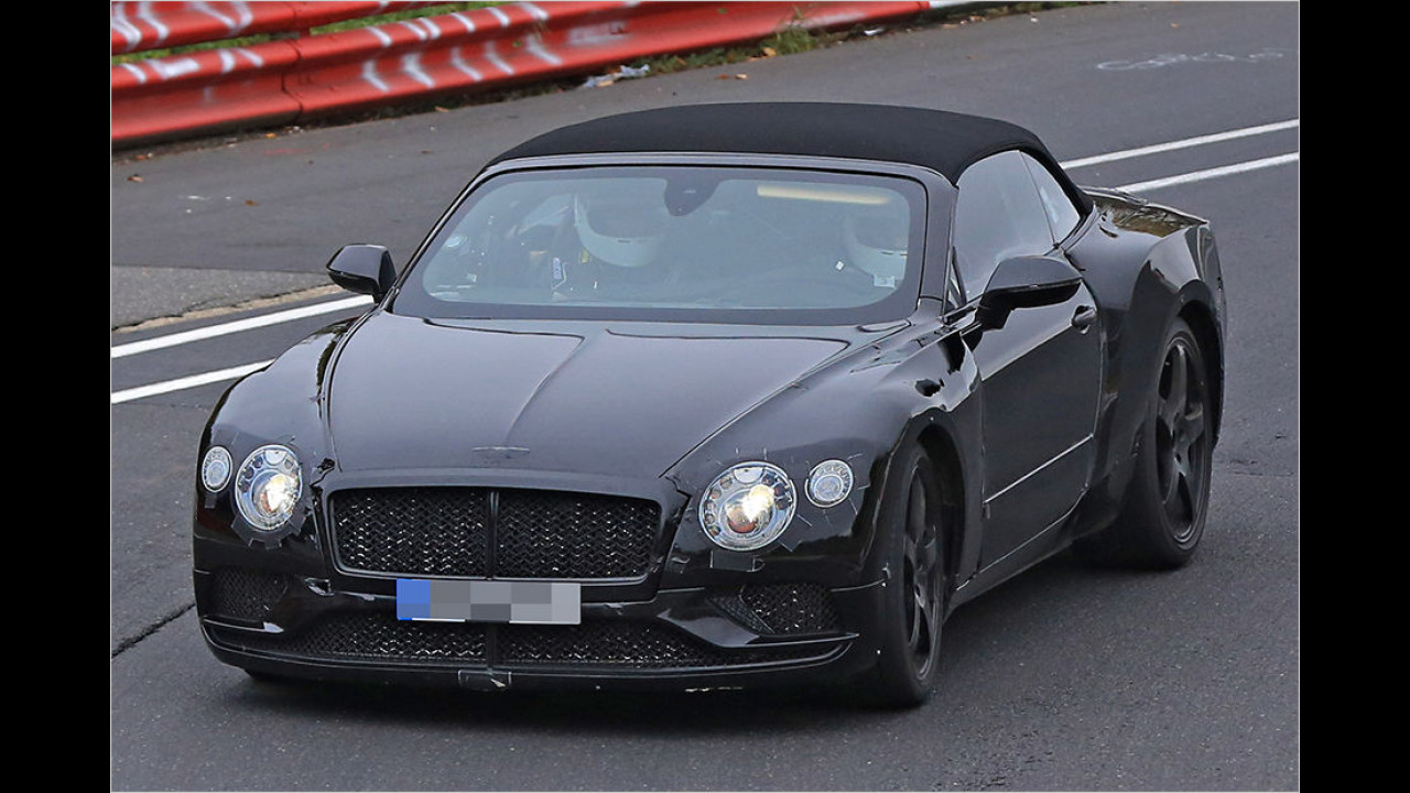 Bentley Continental GTC 2018