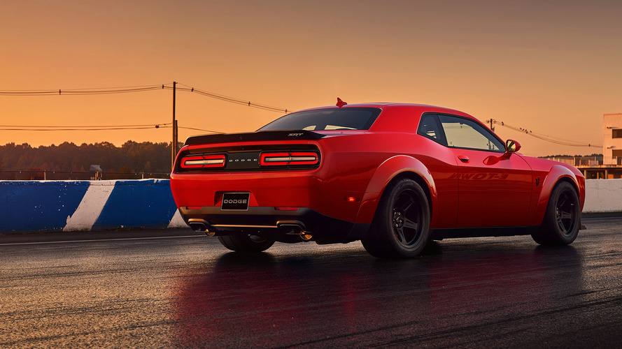 La Dodge Challenger SRT Demon sur eBay à plus de 200'000 euros