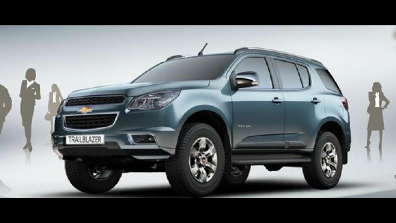Chevrolet divulga primeiros detalhes oficiais da versão europeia do SUV TrailBlazer