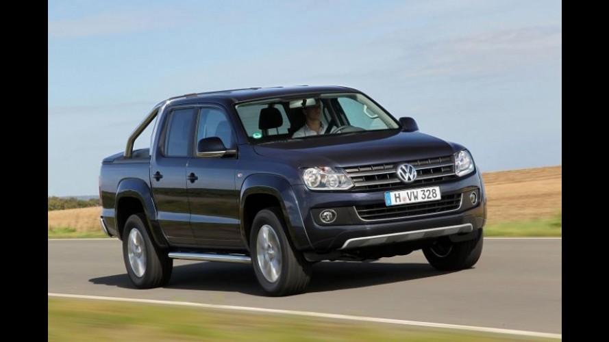 Volkswagen Amarok equipada com câmbio automático chega em abril