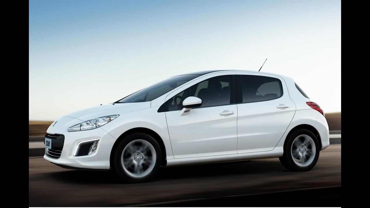 Peugeot 308 tem o menor custo de reparação no segmento segundo o CESVI