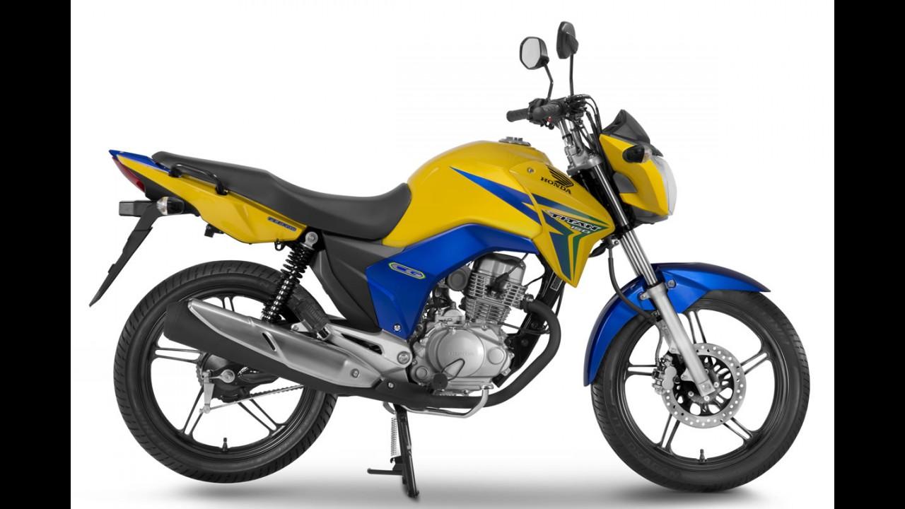 Honda CG ganha série limitada BR nas cores do Brasil