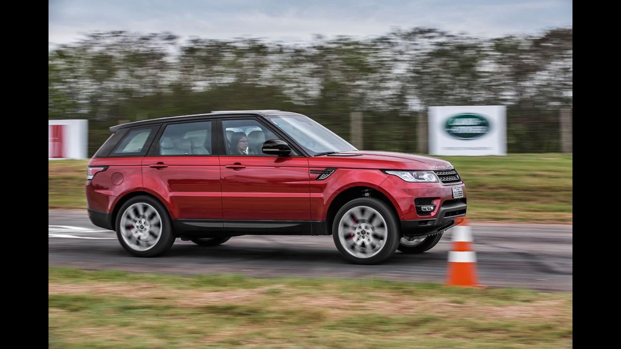 Range Rover Vogue e Sport têm recall no Brasil por falha nas portas
