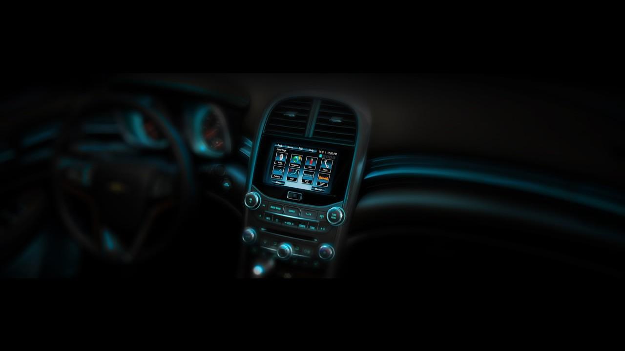GM divulga novo teaser do Chevrolet Malibu 2013