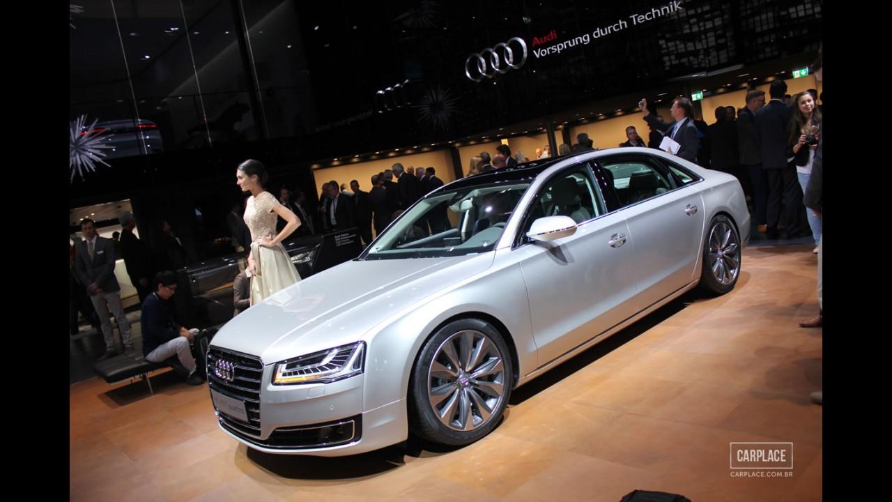Salão de Frankfurt: Audi mostra A8 reestilizado e recheado de tecnologia