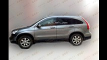 Flagra: geração passada do Honda CR-V pode reviver na China