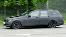 New C-Class Estate Spy Photos with Less Camo