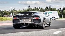 Bugatti Chiron Test Car At Nürburgring