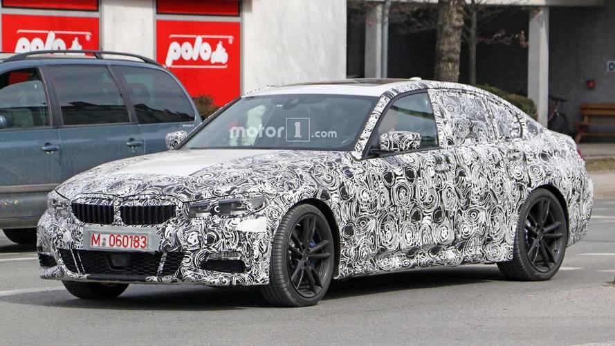 Photos espion - La nouvelle BMW Série 3 dévoile son intérieur !