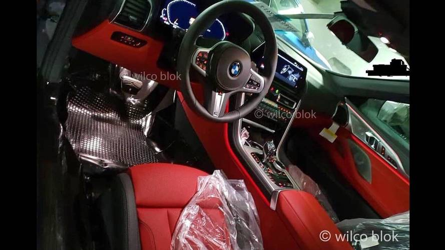 Echa un vistazo al interior del BMW Serie 8 2018