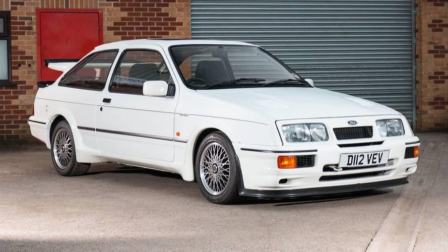 El primer Ford Sierra RS500 Cosworth, a subasta