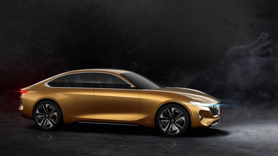 Pininfarina Reveals H500 In China As Concept For Smooth EV Sedan