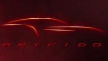 Italdesign Giugiaro Brivido concept teaser for 2012 Geneva Motor Show 01.03.2012